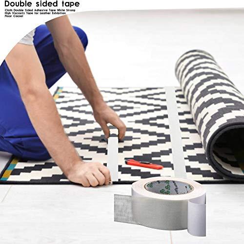 Doppelseitiger Teppich-Tap Weißes, Starkes, rückstandsfreies Klebeband für Leder-Ausstellungsbodenteppiche