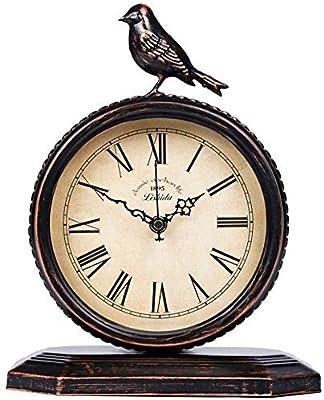 WTY Barrido de Segunda Mano sin tictac Reloj de Escritorio Reloj ...