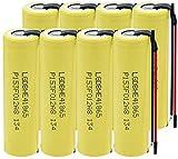 LqyKJas Rechargeable Battery 3.7V 2500Mah 1865035A Battery for High Discharge Flashlight Rechargeable Battery 8Pcs-8Pcs