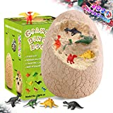 KABEATY Jumbo Dinosaur Eggs for Kids Christmas, Easter Gifts, Giant Dino Eggs Dig Kit with 12 Suprise Dinosaurs Toys ,Archaeology Science Kit Stem Toys for Kids Boys and Girls 3-5 5- 7 8-12 Year Old