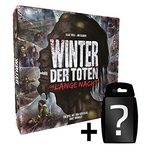 Winter der Toten - Die Lange Nacht - Grundspiel | DEUTSCH | Neuauflage |Set inkl. Kartenspiel