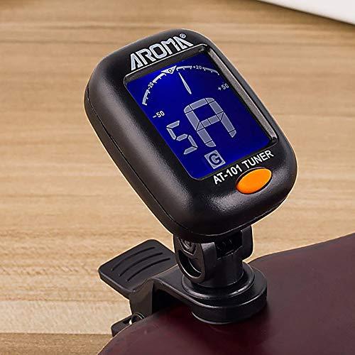 Peanutaod Mini Professional Digitaler Clip-On-Tuner-Tuner Drehbarer Clip-On-Tuner Das Beste und ideellste Geschenk