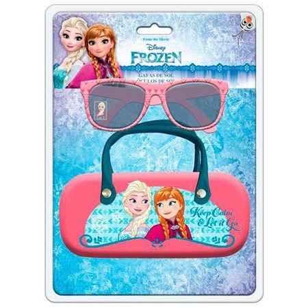 Disney–Occhiali da Sole + Custodia con Arco Frozen, ast3790