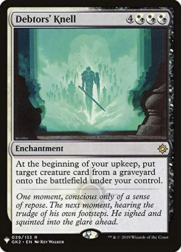 Magic : The Gathering MTG - Debtors' Knell - Mystery Booster MYS 1519/1694 English