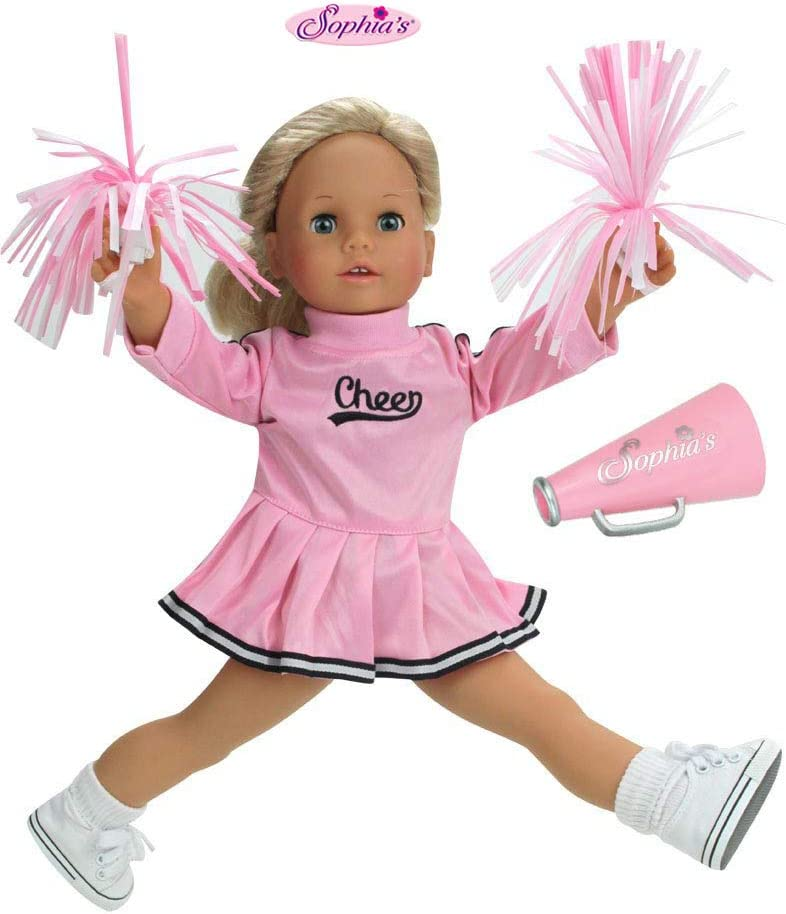 Sophia's 18 Inch Doll Cheerleader Girl American Do At the price of surprise Clothes Fits Our shop most popular