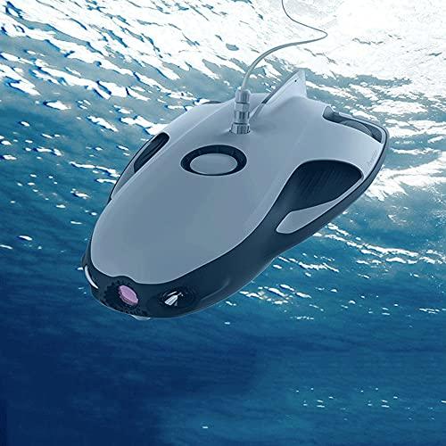 WANGCH Macchina fotografica subacquea intelligente/fotocamera HD Drone subacqueo professionale 4K/30 metri Durata della batteria 4 ore Telecomando in volo intelligente Sottomarino/ecoscandaglio Fish F