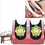 Massager- Foot Care strumento di massaggio, piede Leg Vitello massaggio Pedicure macchina, piede casa automatico agopuntura Impastare Riflessologia Tool, rosered SluoYiS (Color : Rosered)