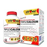 Award winning, multi-source calcium formula with stabilized Vitamin K27 (MK-7). Includes other bone accretive minerals: Phosphorous, Zinc and Magnesium 6x Calcium Power: 3 forms of Calcium + MK7 + Vitamin D3 + Zinc + Magnesium Formulated with 3 bio-o...