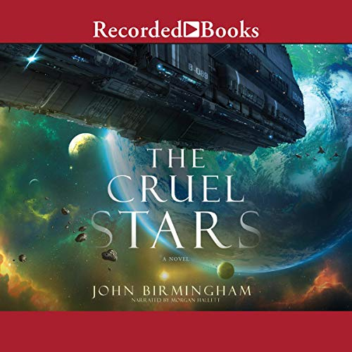 The Cruel Stars audiobook cover art