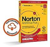 Norton Antivirus Plus 2021 | 1 PC | Sécurité Internet, Gestion Mots de Passe, 2 GO Stockage Cloud | 1 An | PC/Mac