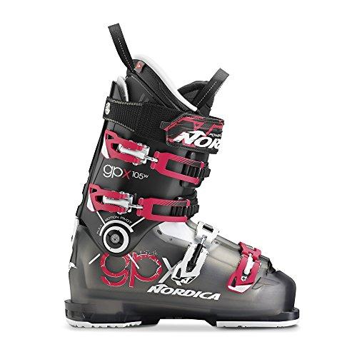 Nordica Damen 050F2200-242 Skischuh GPX 105 W Transp. Black/Purple - MP 26,5