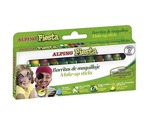 Alpino DL000012 - Estuche 12 unidades maquillaje