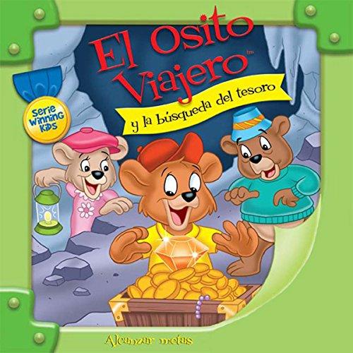El Osito Viajero y la búsqueda del tesoro [Traveling Bear and the Search for Treasure (Texto Completo)] audiobook cover art
