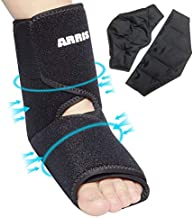 Ankle Gel Ice Pack for Pain Relieve,Hot Cold Therapy Foot Ankle Ice Wrap for Sprained Ankle, Achilles Tendon Injuries, Plantar Fasciitis, Bursitis & Sore Feet