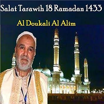 Salat Tarawih 18 Ramadan 1433 (Quran)