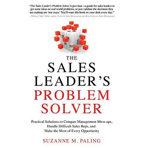 The Sales Leader's Problem Solver audiobook cover art