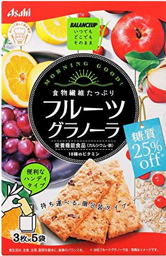 アサヒグループ食品『バランスアップフルーツグラノーラ糖質25%オフ』