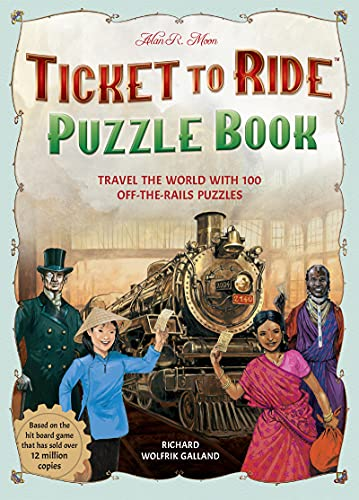 Ticket to Ride Puzzles: Travel the World with 100 Off-The-Rail Puzzles