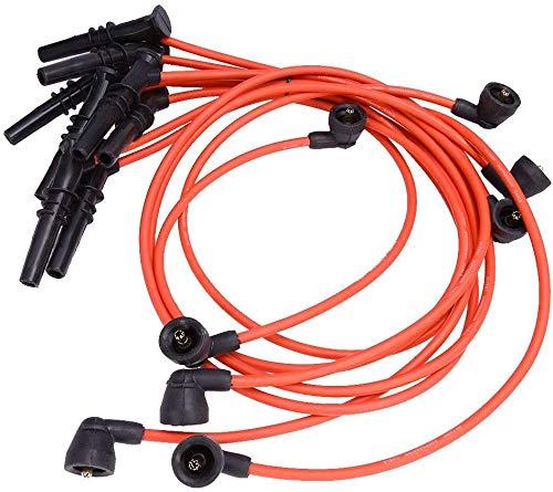 Carb Omar High Performance 8 Pcs Spark Plug Wire Set for Ford Lincoln Mercury F-150 F250 V8 4.6L