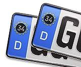 Auto Kennzeichen Aufkleber Sticker Türkei 34 Istanbul Motiv Bild Plaka Stadt 2 Stück