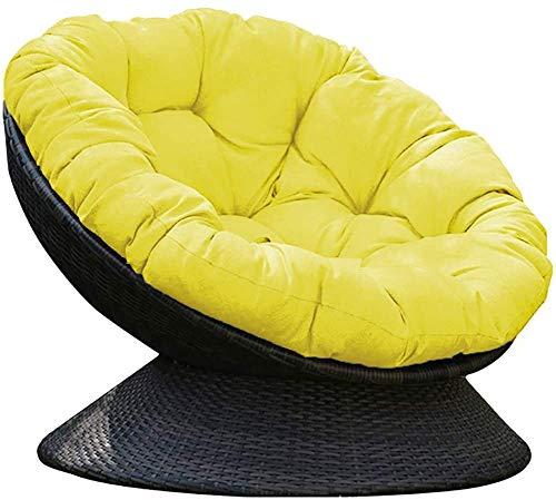 TYHZ Cojines Para Sillas Cojín de silla de papasana, almohadillas de silla de huevo al aire libre, [cubierta impermeable] hundirse en nuestro grueso cojín de silla de papasana cómodo cojines sillas co