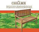 Chillroi Kingsbury Gartenbank Holz - 2
