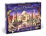 Noris Spiele Schipper 9260435 Taj Mahal - Set para Pintar por números, 80 x 50 cm [Importado de Alemania]