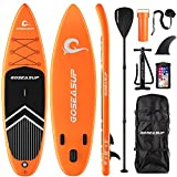 Best Paddle Boards - GOSEASUP Inflatable Stand Up Paddle Board for Adults/Kids Review