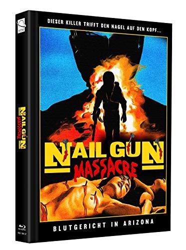 Nailgun Massacre - Mediabook - Cover D - Limited Edition auf 75 Stück (+ Bonus-Blu-ray: Die neunschwänzige Katze)