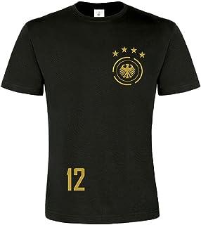 easy4fashion myfashionist Herren T-Shirt Fußball Trikot WM/EM Deutschland Trikot in Verschiedene Grössen