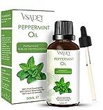 VSADEY Aceite Esencial de Menta 50ml, Aceite de Menta 100% Puro, Natural y Vegano, Aceite ...