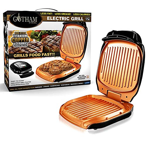 VENTEO – Gotham Grill Electrique Low Fat Grill...