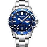 Automatic Blue Dial Men Watch ...