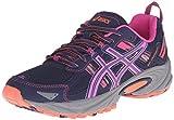 ASICS Women's Gel-Venture 5-W, Indigo Blue/Pink Glow/Living Coral, 8.5 M US