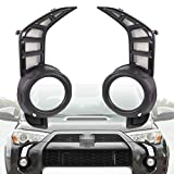 PGTOPONE Switchback White/Amber LED Front Fog Daytime Running Lamp w/Dynamic Flash LED Turn Signal light Feature For Toyota 4Runner 2014-up Accessories