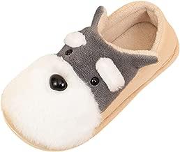 Tronet Boys Girls Home Slippers,Toddler Boys Girls Little Kids Shoes Warm Cute Animal Kid Home Slipper