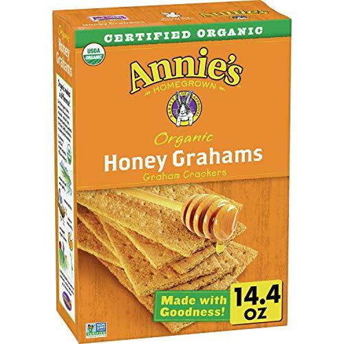 Annie's Organic Graham Crackers, Honey Grahams,
