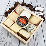 Ships expedited in a reusable insulated cooler to ensure freshness A great assortment of 9 cheeses packaged in 9 individual compartments of a rustic wooden drawer with handles Suitable for any budding cheese connoisseur Perfect for a housewarming gif...