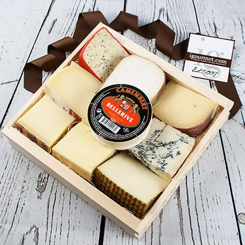 Gourmet Cheese Lover's Gift Basket