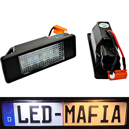 LED Kennzeichenbeleuchtung Module - E-Prüfzeichen - Plug & Play - 6000K 3e