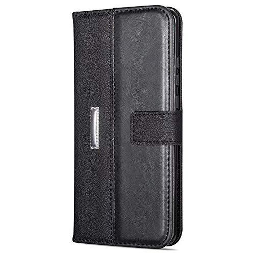 LAPOPNUT für Samsung Galaxy S6 Hülle Luxury Retro Ledertasche Magnetisch Flip Brieftasche Schutzhülle Schutz 360 Vollschutz Stand Kartenschlitz Handyhülle Case Cover für Samsung S6