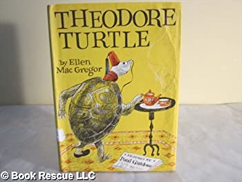 Library Binding Theodore Turtle Book
