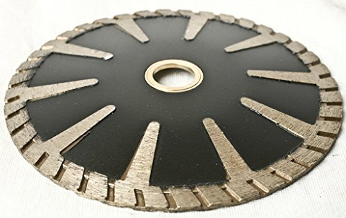 5 Inch 125mm Concave Curved Blade For Granite & Convex Diamond Tool Turbo concrete travertine sinkwork circle shape cutting contour blade concave curved blade