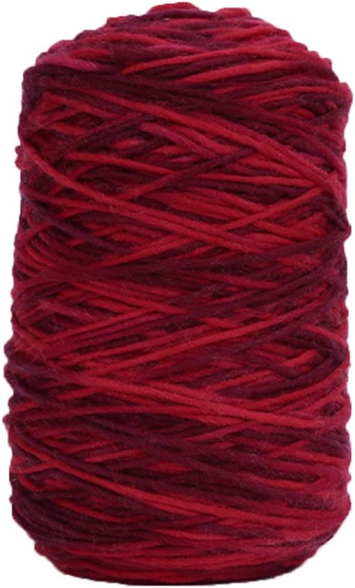 1kg Worsted Assorted Credence Colors Yarn Topics on TV Hand Knitt Rainbow Acrylic