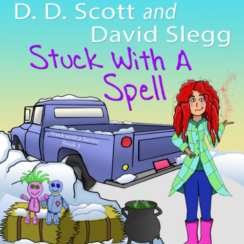Stuck with a Spell audiobook cover art