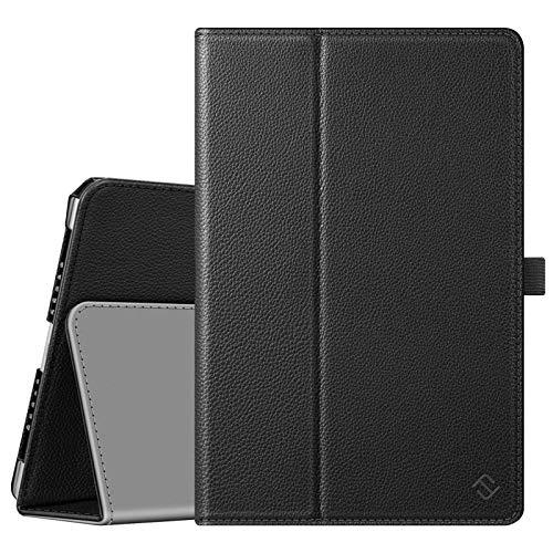 Fintie Case for iPad 9.7 2018/2017, iPad Air 2, iPad Air - [Corner Protection] Premium Vegan Leather Folio Stand Cover, Auto Wake/Sleep for iPad 6th / 5th Gen, iPad Air 1/2, Black