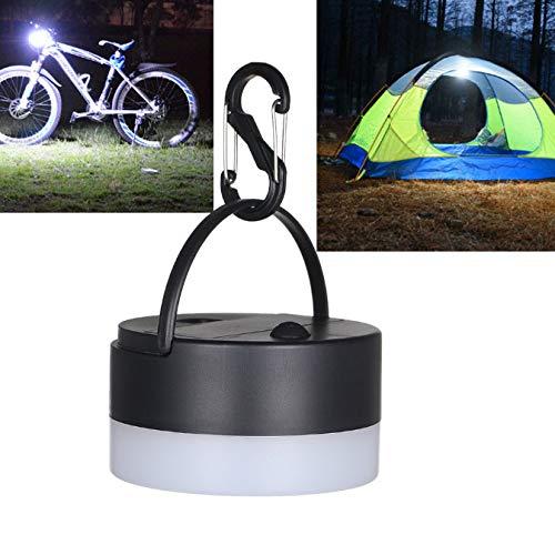 Campinglampen, outdoor, draagbare dimming, zaklamp, hangende tent, led-nachtlampje, noodlamp, met haak