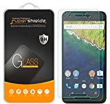(2 Pack) Supershieldz Designed for Huawei (Google) Nexus 6P Tempered Glass Screen Protector Anti Scratch, Bubble Free