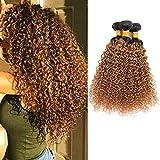 Feelgrace Hair Ombre Kinkys Curly Human Hair Extensions Brazilian...