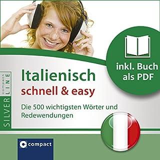 Italienisch schnell & easy - Fokus Wortschatz und Redewendungen Titelbild